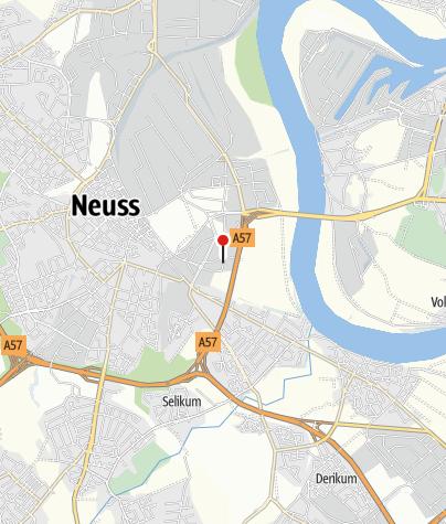 Karte / Holiday Inn Dusseldorf – Neuss