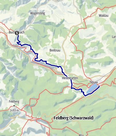 Karte / Querweg Etappe 2