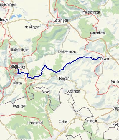 Karte / Querweg Etappe 5
