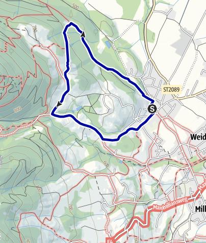 Karte / Wandern von Brannenburg aus - Auf die Schwarzlack und Kogl