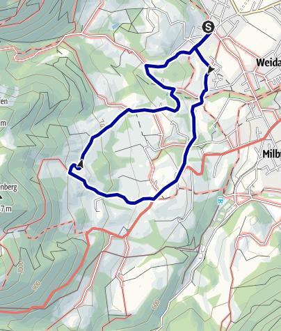 """Karte / Wandern von Brannenburg aus - Bergtour zu den """"Drei Linden"""""""