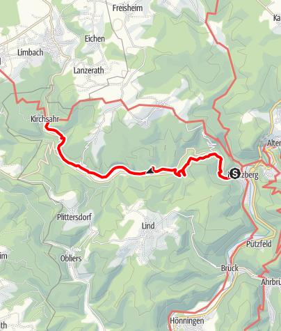 Karte / Sahrbachweg