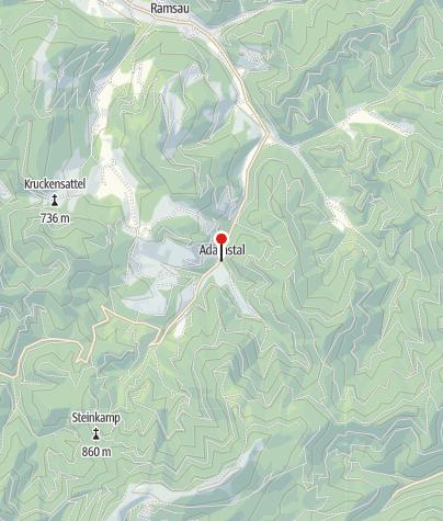 Mapa / Golf und Genuss im Adamstal