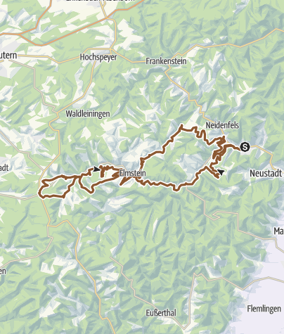 Map / Lambrecht Tour 5