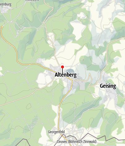 Karte / Bikezeit Altenberg