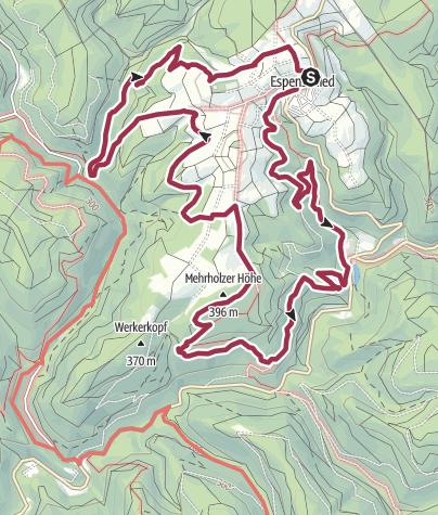 Map / Wispertalsteig