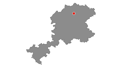 Karte / Lahnwanderweg 06. Etappe Caldern – Marburg