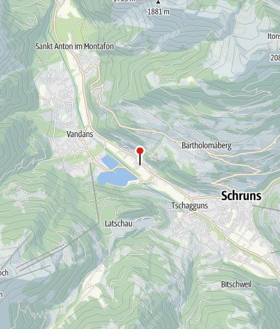 Kaart / Bartholomäberg, Katholische Filialkirche Pfarrexpositurkirche Heiliger Josef