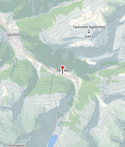 Karte / Gaschurn, Kuratienkirche zum Heiligen Martin