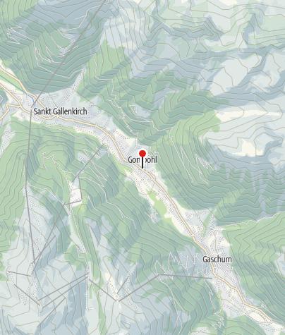 Karte / St. Gallenkirch, Kuratienkirche Heiliger Nikolaus