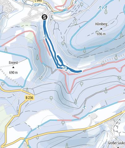 Karte / Snow Park - Stadionrunde 2