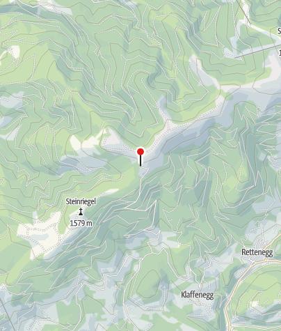 Karte / Roseggerhaus auf der Pretul