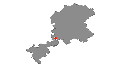 Karte / Lahnwanderweg 13. Etappe Weilburg – Aumenau