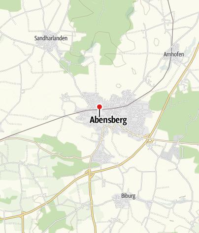 Map / Biergarten beim Kuchlbauer Turm