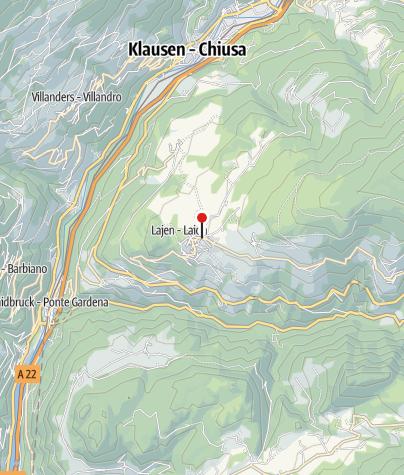 Mapa / Bildstock in Lajen