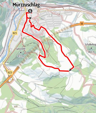 Karte / Geireggrunde