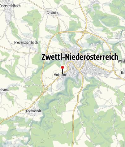 Térkép / Bergwirt Schrammel & Mohnhotel