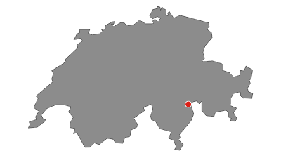 Cartina / 35.01 Walserweg Graubünden Etappe 1: San Bernardino - Hinterrhein