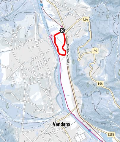 Karte /  Nr. 42: Kleine St. Anton Runde (klassisch & skating)