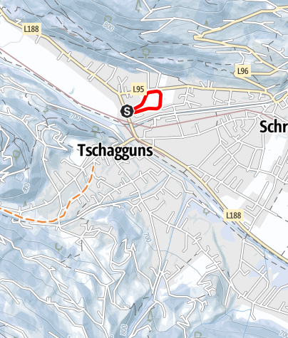 Map / Loipe Mühlbachrunde Schruns