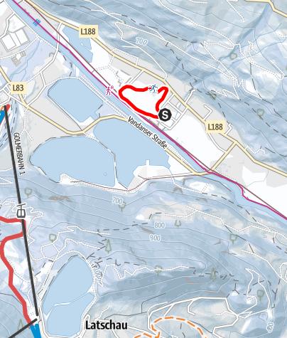 Karte / Nr. 39: Große Gantschier Runde (klassisch)