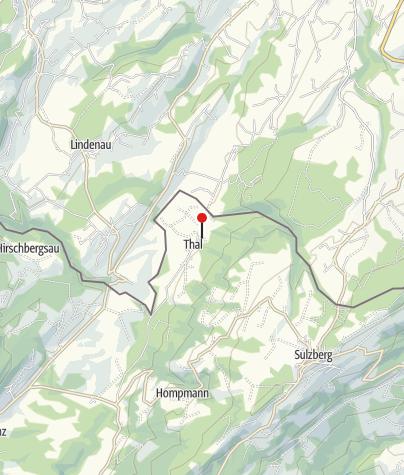 Karte / Sulzberg, Katholische Pfarrkirche Heiliger Franz Xaver