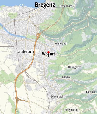 Karte / Wolfurt, Katholische Pfarrkirche Heiliger Nikolaus
