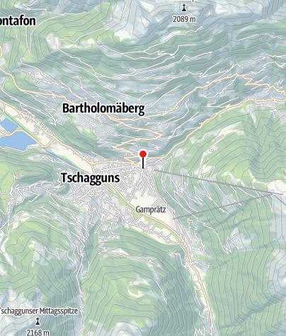 "Karte / Skulptur ""Der Sieger"""