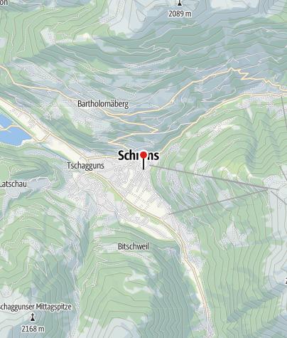 Karte / Alpin Sport Zentrale