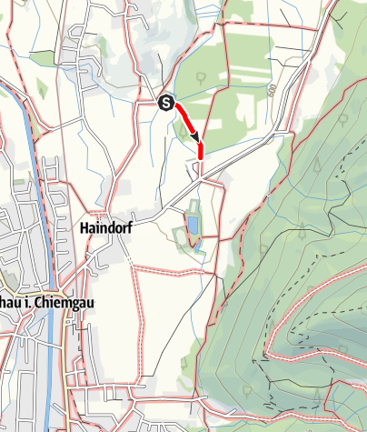 Karte / Wandern von Aschau aus - Zum Moor-Frosch ohne Stolperstein