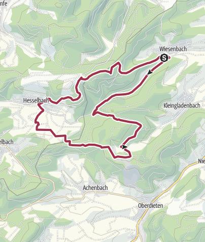 Map / Extratour Boxbachpfad