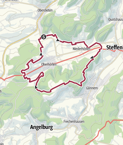 Karte / Extratour Hörlepanoramaweg