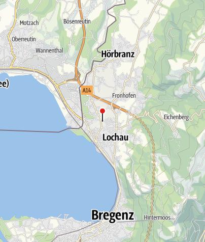 Karte / Hörbranz - Salvatorkolleg