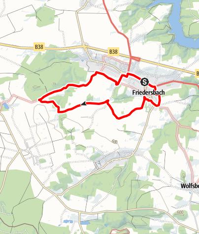 Map / Sonnenweg Friedersbach