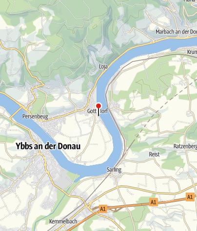 "Mapa / Gasthaus ""Zum Kirchenwirt"""