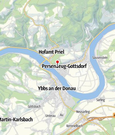 """Mapa / Gasthaus """"Zum goldenen Ochsen"""""""