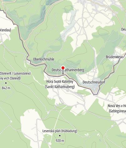 Karte / Abenteuer Bergwerk Bernsteinzimmer & Gaststätte Huthaus