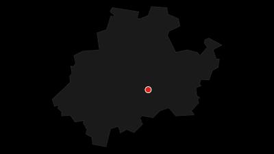 Karte / Golddorf-Route Kirchrarbach
