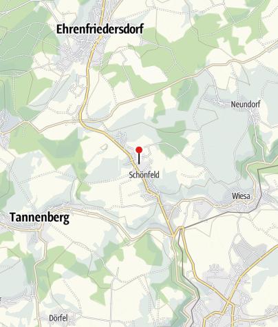 Karte / Modellbahnland Erzgebirge