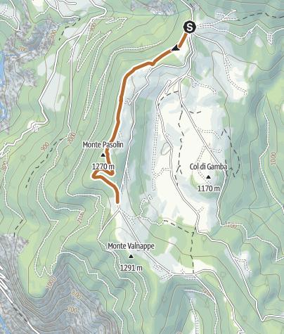 Karte / Die Strecke Celado