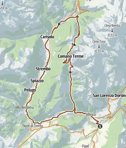 Karte / Movlina Top View - Tour 941