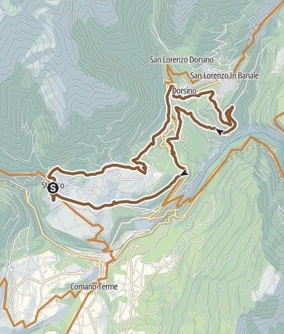 Karte / Dolomiti Shadow - Tour 942