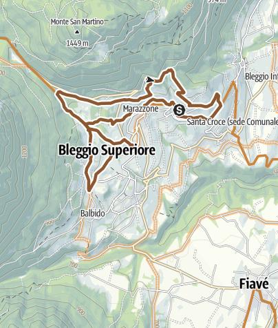 Karte / Bleggio's trail - Tour 948