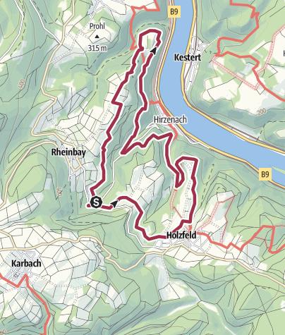 Karte / Traumschleife Rheingold