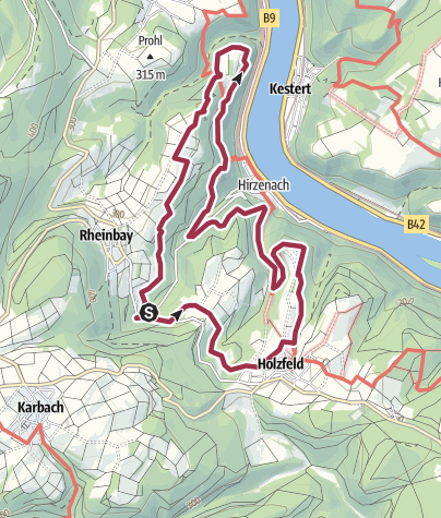 Map / Traumschleife Rheingold