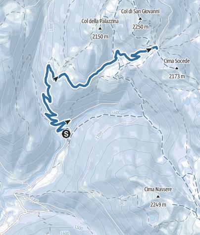 Kaart / Passo 5 Croci