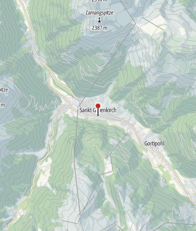 Karte / Sankt Gallenkirch, Katholische Pfarrkirche Heilier Gallus