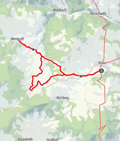 Karte / Barbara-Sicharter-Weg