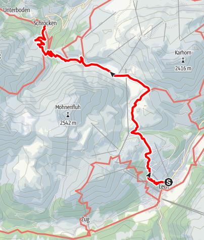 Karte / 04 Lech - Schröcken