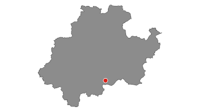 Karte / Golddorf-Route Fleckenberg